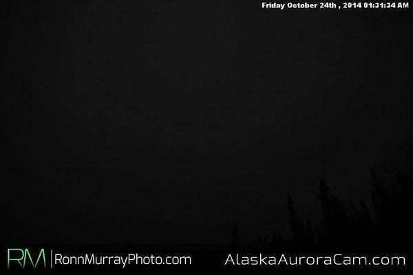 October 23rd - Alaska Aurora Cam