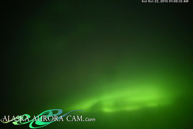 October 21st  - Alaska Aurora Cam