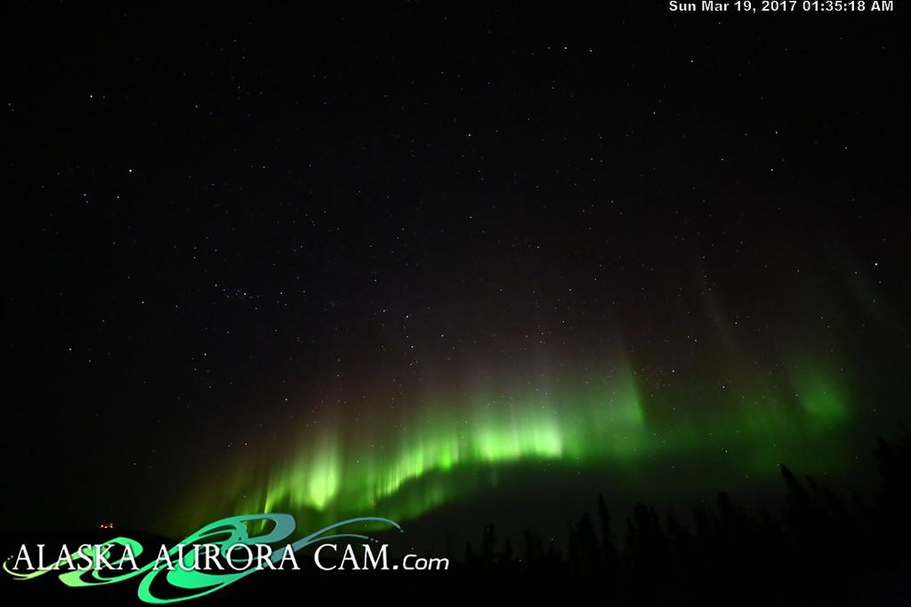 March 18th  - Alaska Aurora Cam