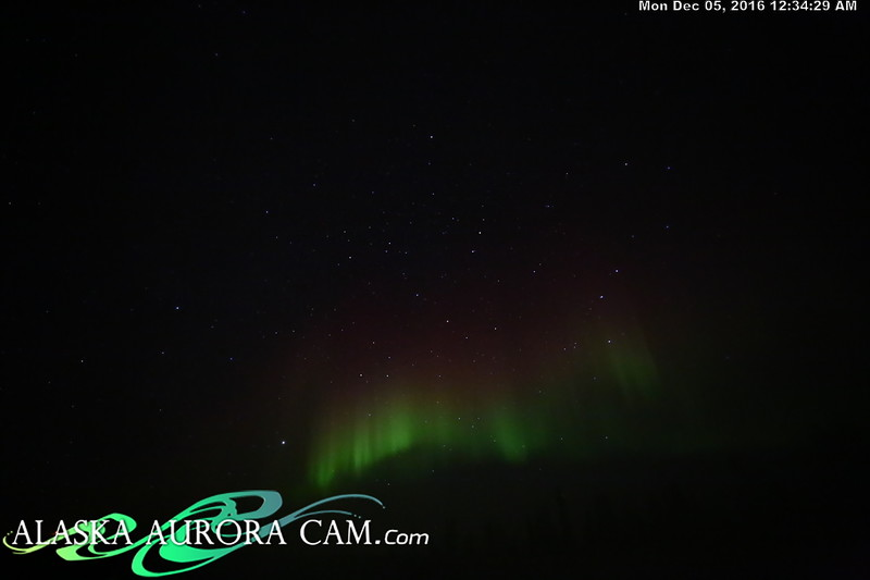 December 4th  - Alaska Aurora Cam