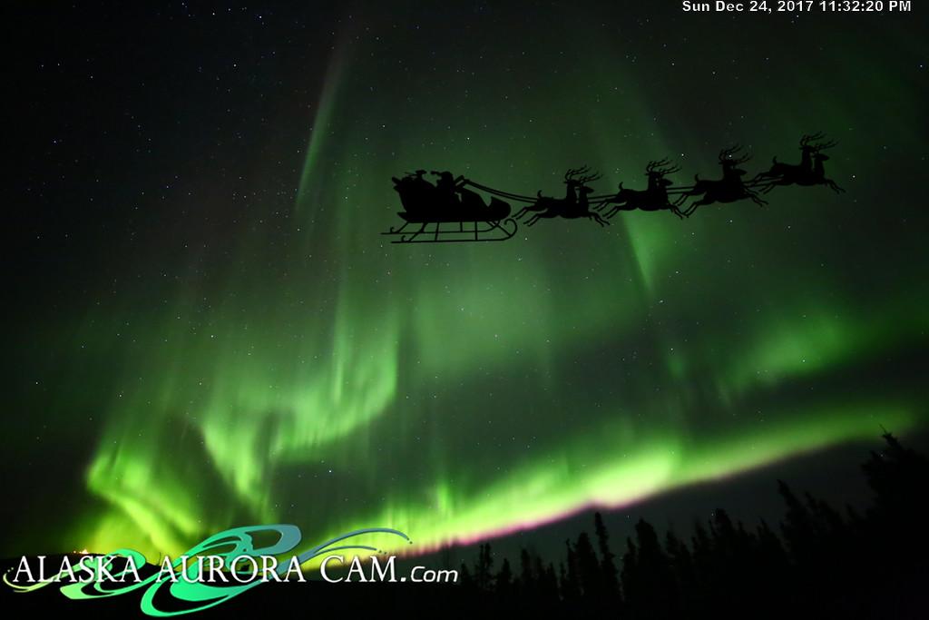 December 24th - Alaska Aurora Cam