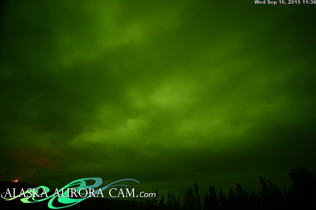 September 16th - Alaska Aurora Cam