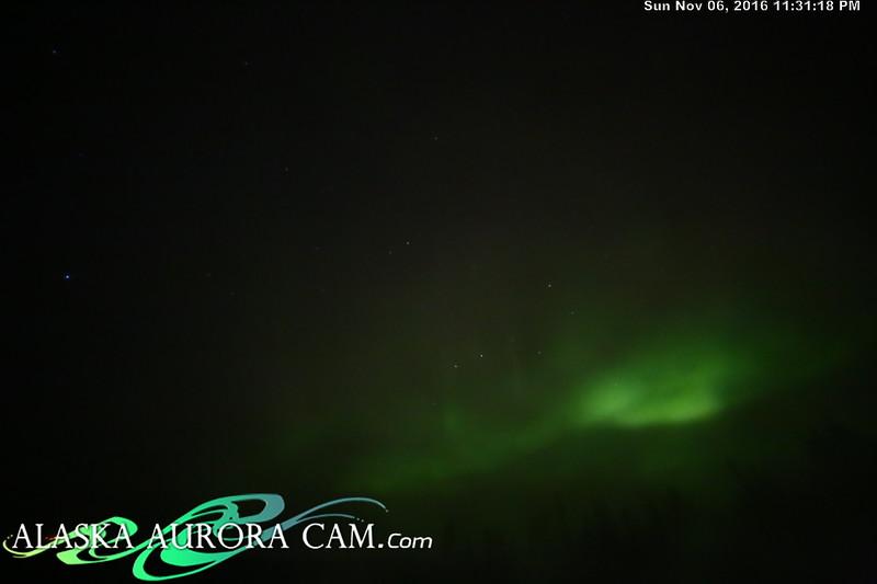 November 6th  - Alaska Aurora Cam