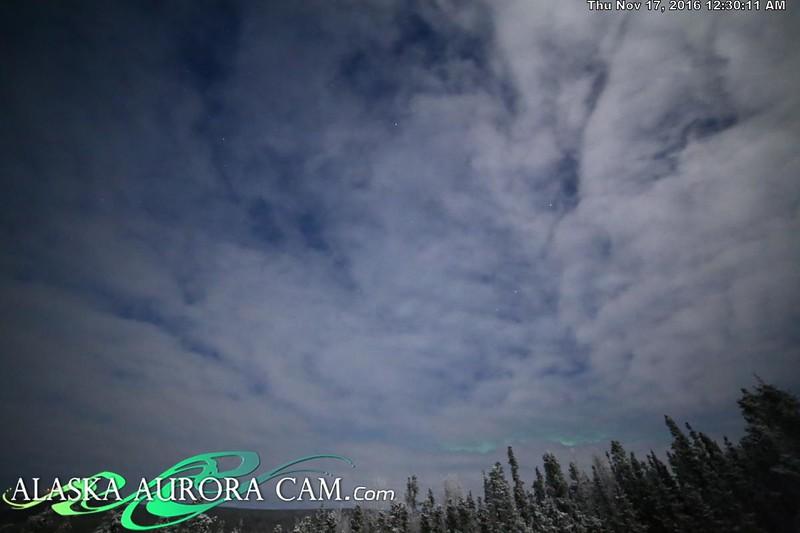 November 16th  - Alaska Aurora Cam