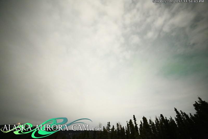 December 31st - Alaska Aurora Cam