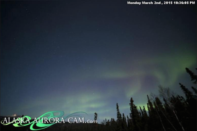 March 2nd - Alaska Aurora Cam