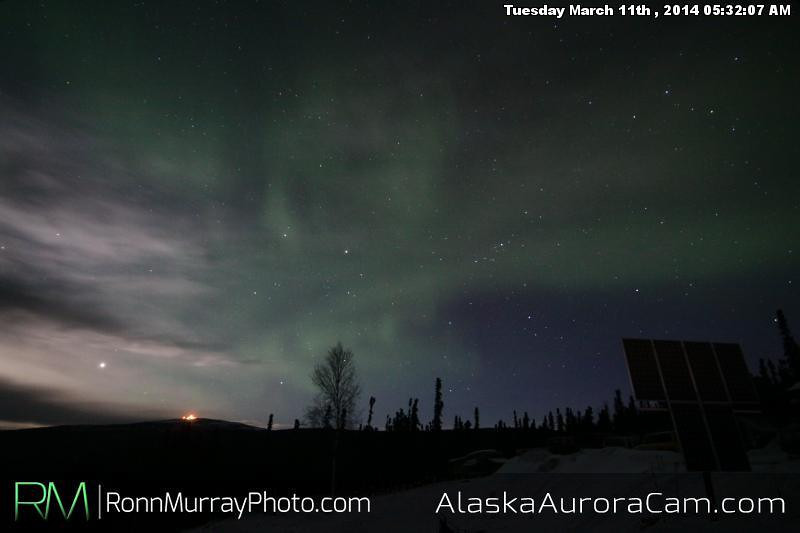 March 11th - Alaska Aurora Cam