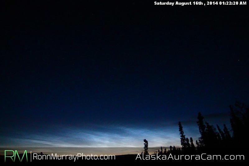 August 15th - Alaska Aurora Cam