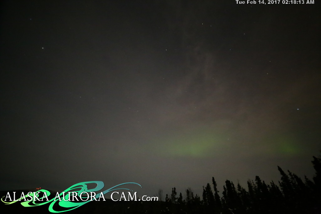 February 13th  - Alaska Aurora Cam