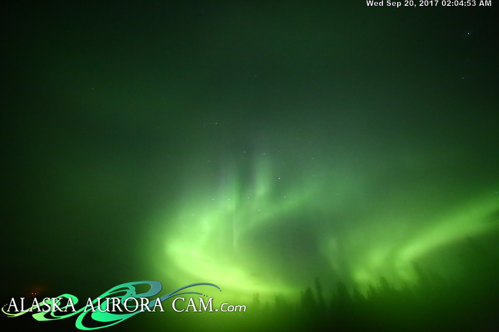 September 19th - Alaska Aurora Cam