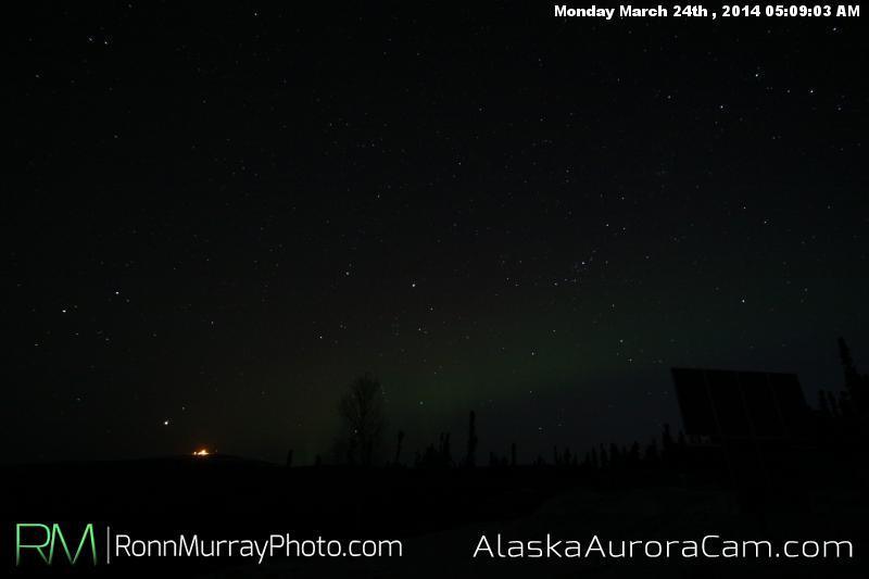 March 24th - Alaska Aurora Cam