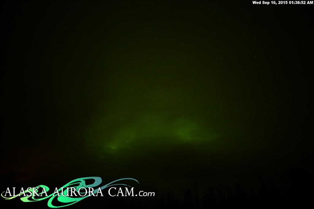 September 15th - Alaska Aurora Cam