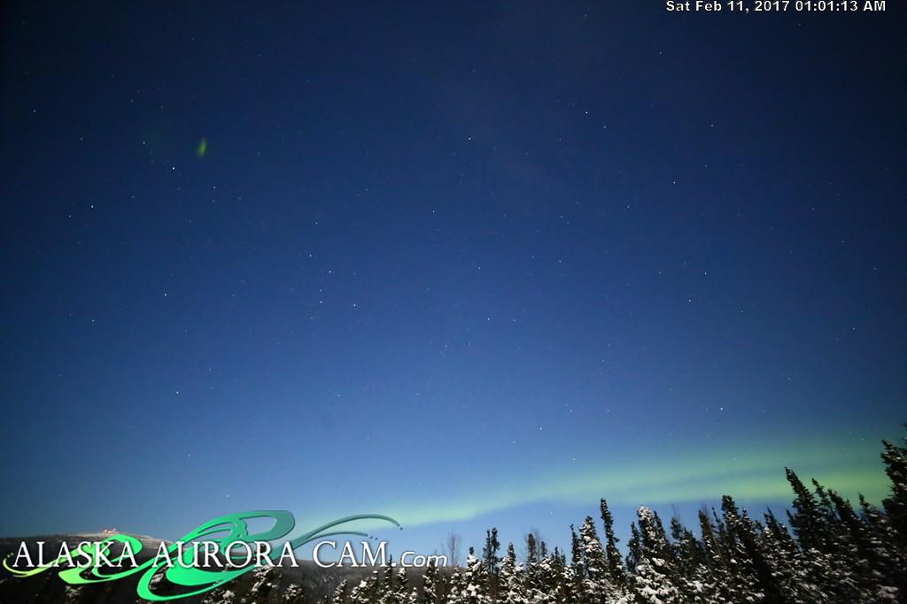 February 10th  - Alaska Aurora Cam