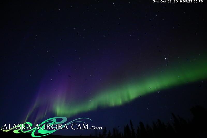 October 2nd - Alaska Aurora Cam