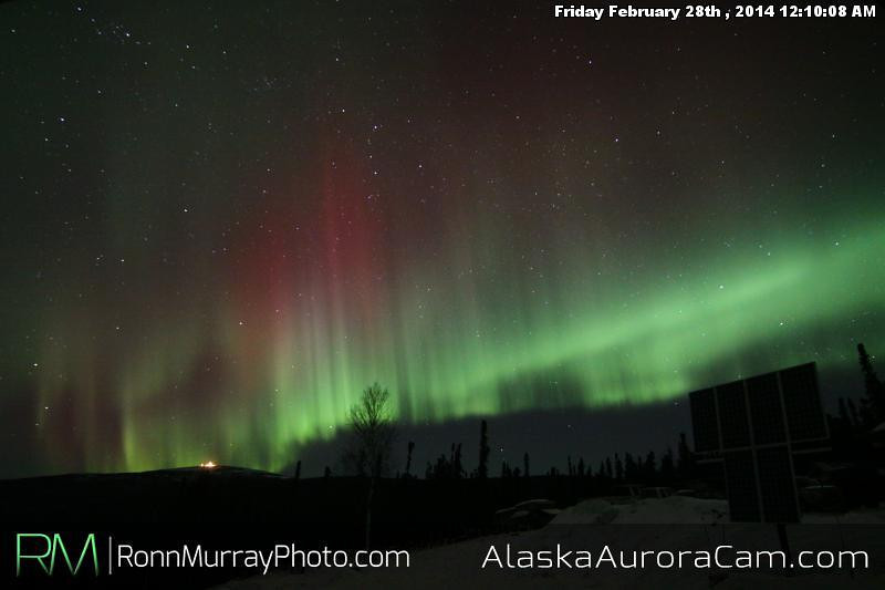 February 28th - Alaska Aurora Cam