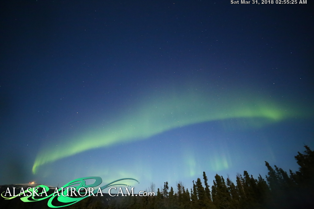 March 30th  - Alaska Aurora Cam