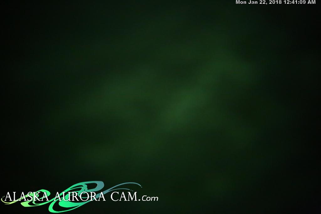 January 21st - Alaska Aurora Cam