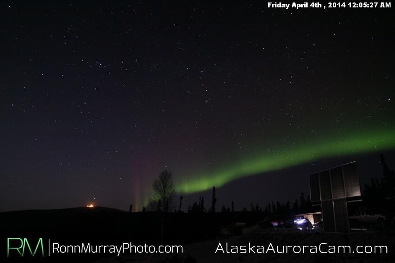 April 4th - Alaska Aurora Cam