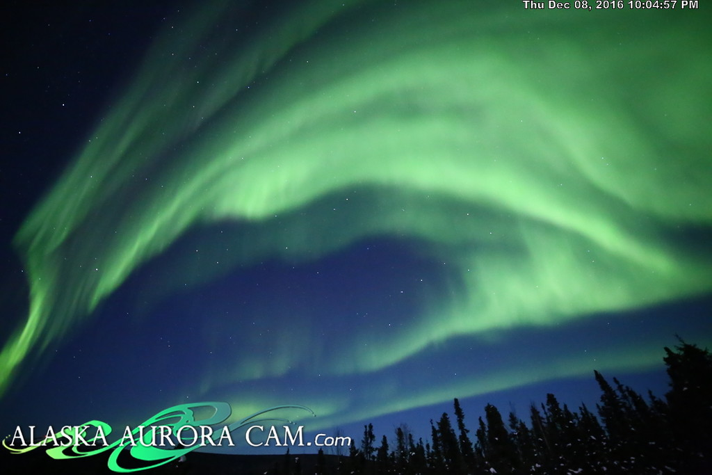 December 8th  - Alaska Aurora Cam