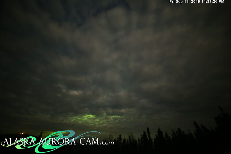 September 13th - Alaska Aurora Cam