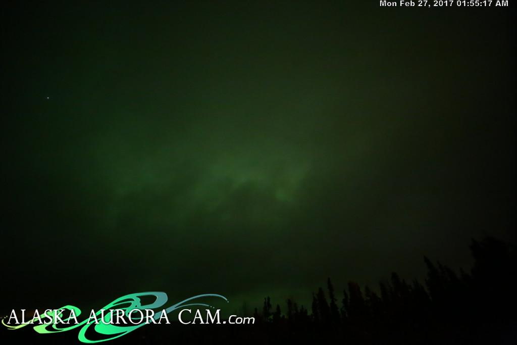 February 26nd  - Alaska Aurora Cam