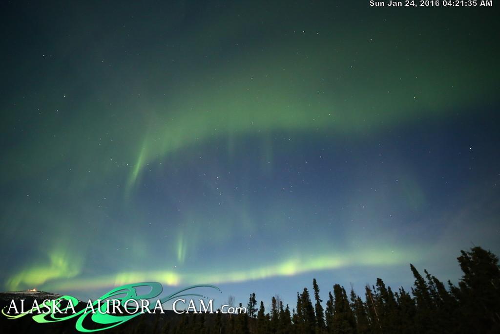 January 23rd  - Alaska Aurora Cam