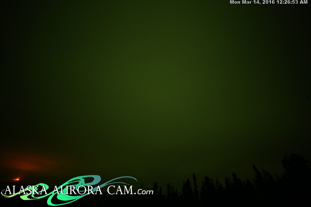 March 13th - Alaska Aurora Cam