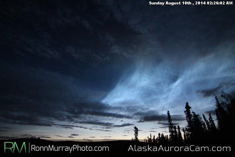 August 9th - Alaska Aurora Cam