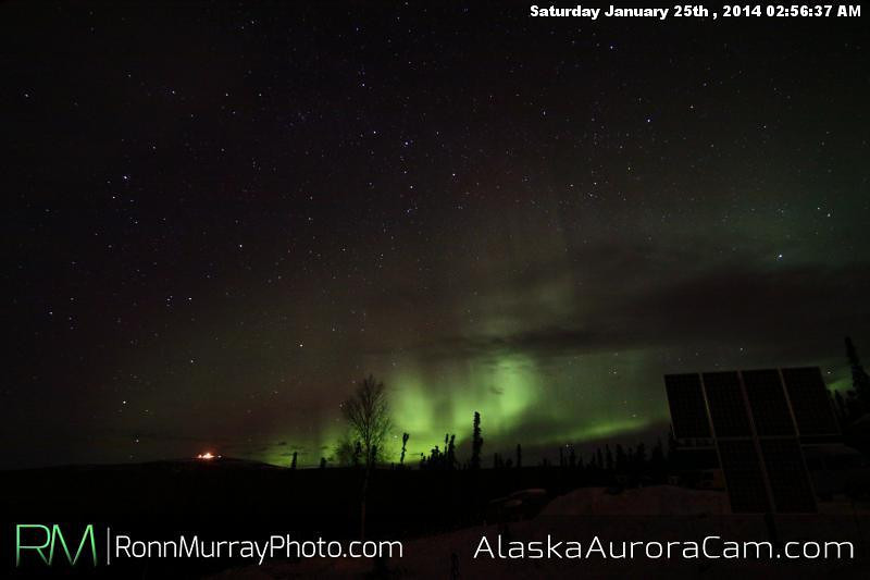 Jan 25th, Alaska Aurora Cam