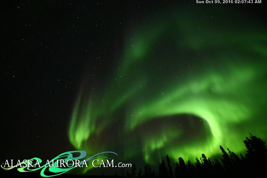 October 8th - Alaska Aurora Cam