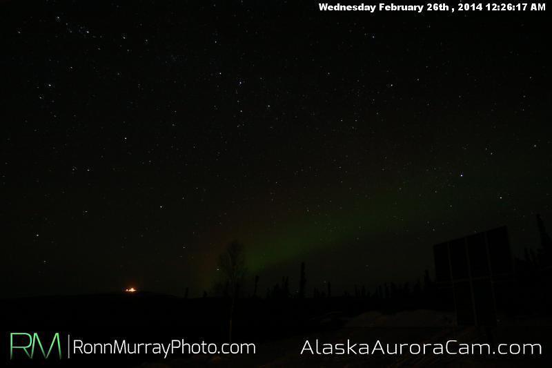 February 26th - Alaska Aurora Cam