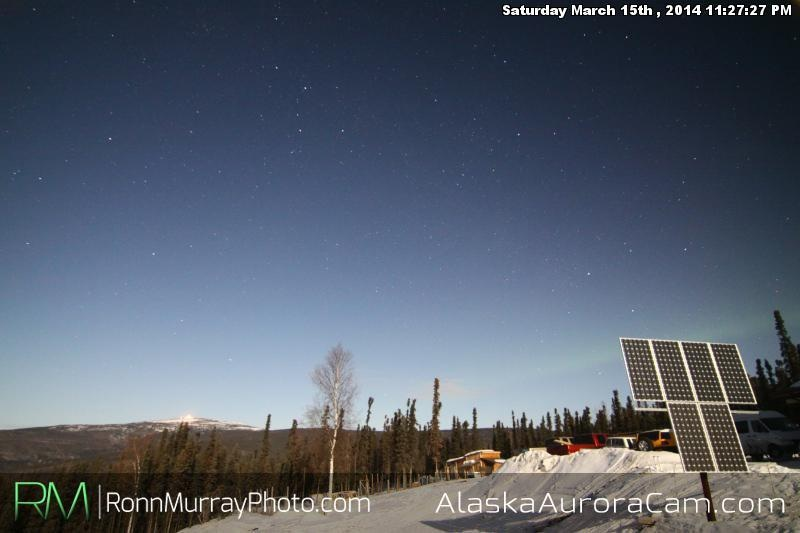 March 16th - Alaska Aurora Cam