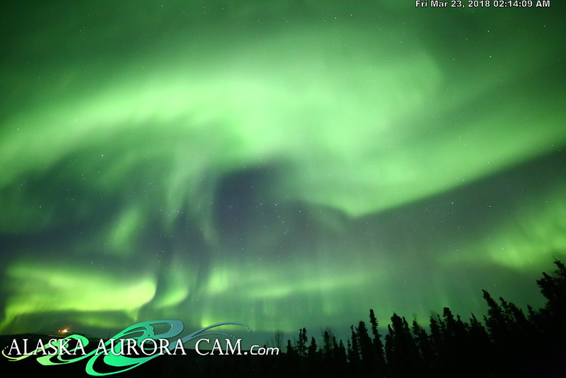 March 22nd  - Alaska Aurora Cam