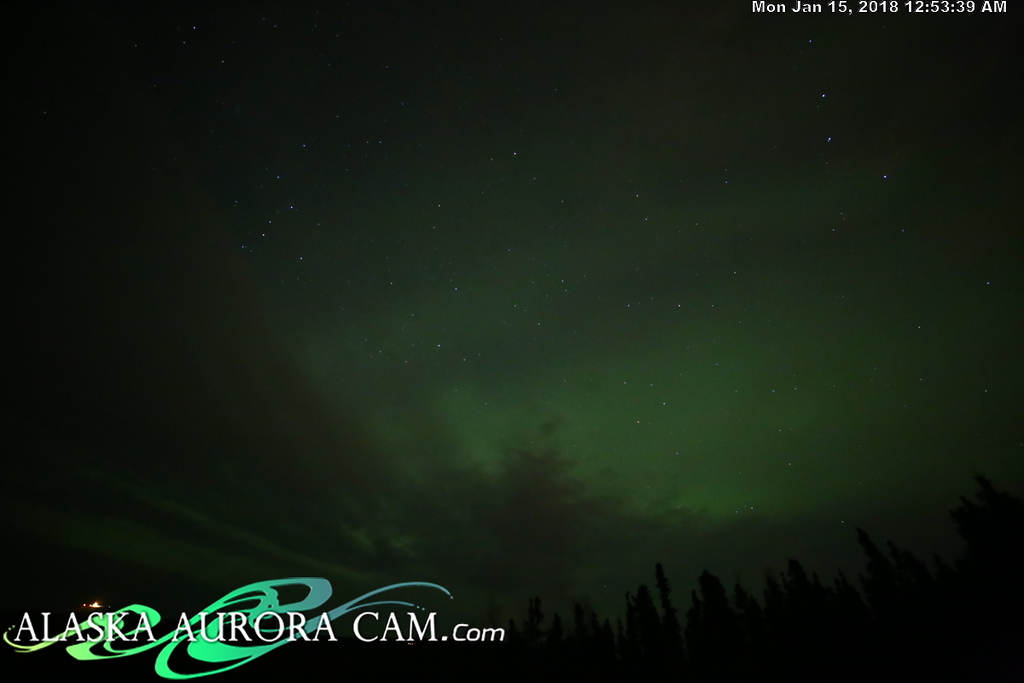 January 14th - Alaska Aurora Cam