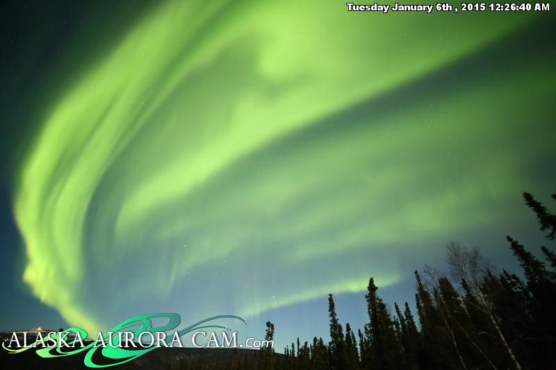 January 5th - Alaska Aurora Cam