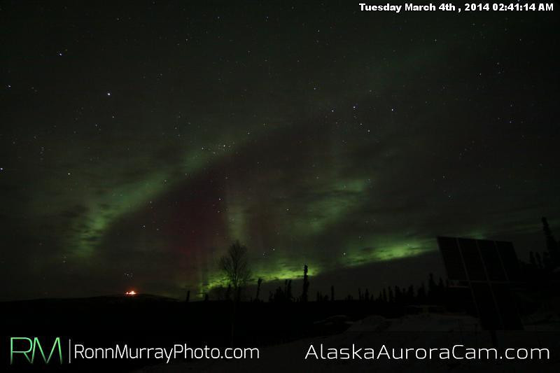 March 4th - Alaska Aurora Cam