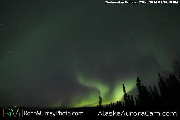 October 28th - Alaska Aurora Cam
