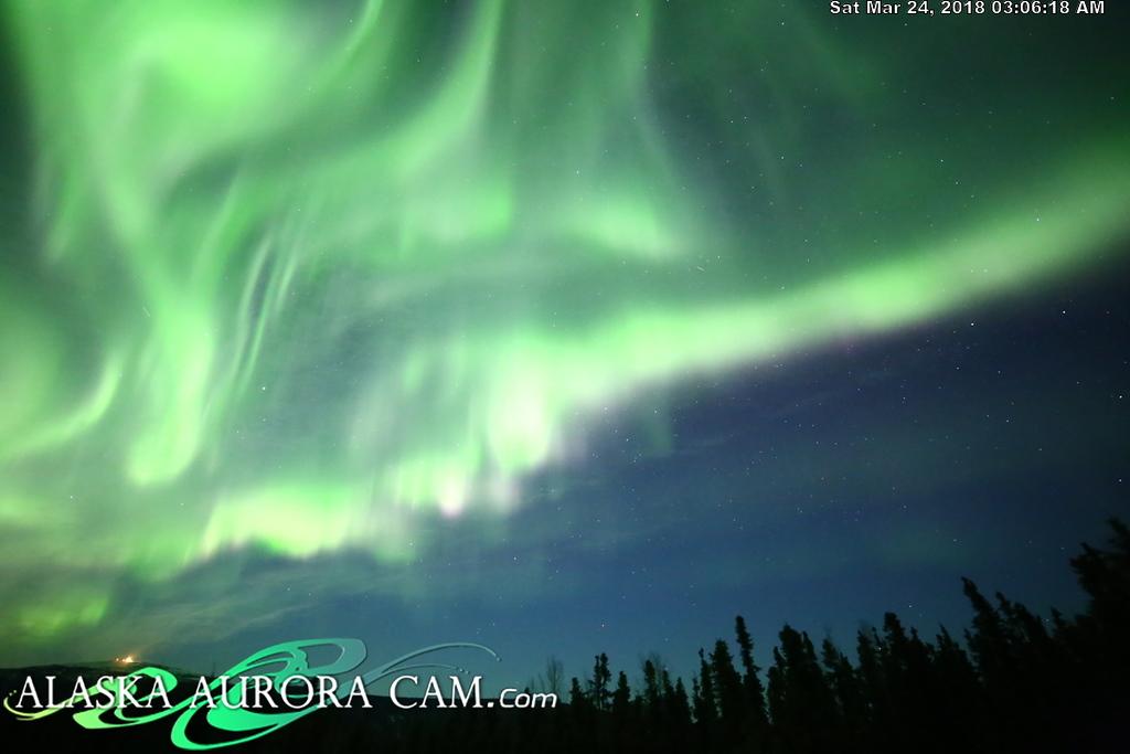 March 23rd  - Alaska Aurora Cam