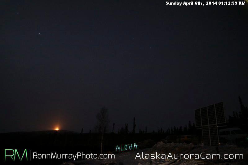 April 6th - Alaska Aurora Cam