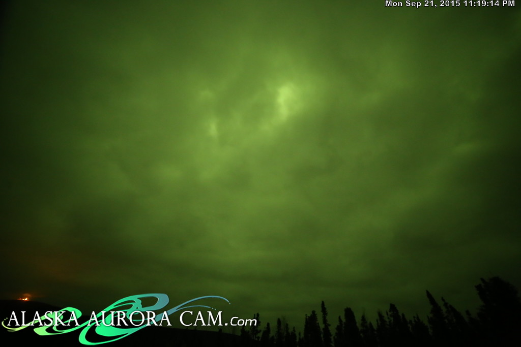 September 21st - Alaska Aurora Cam