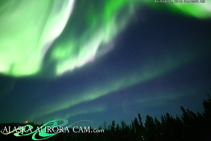 January 31st - Alaska Aurora Cam