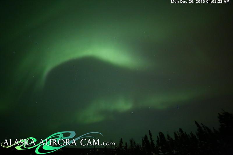 December 25th  - Alaska Aurora Cam