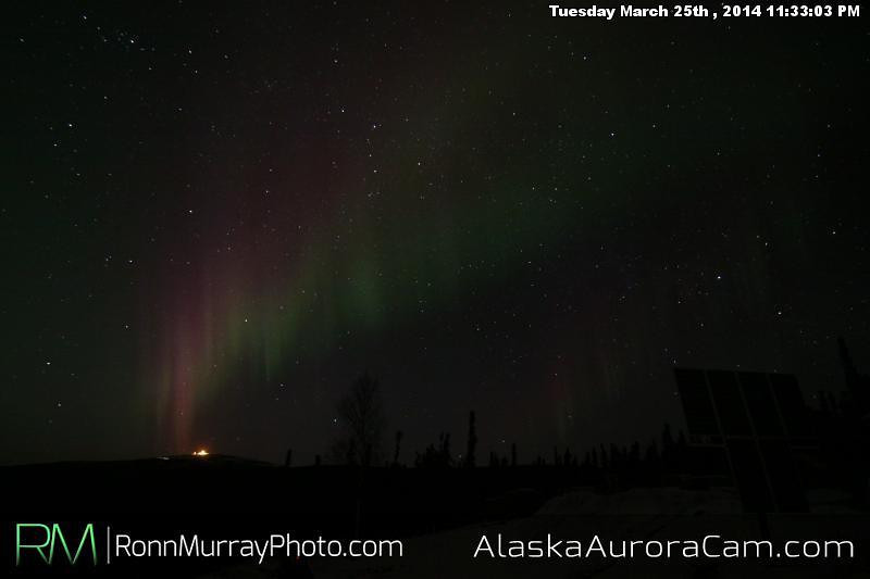 March 26th - Alaska Aurora Cam