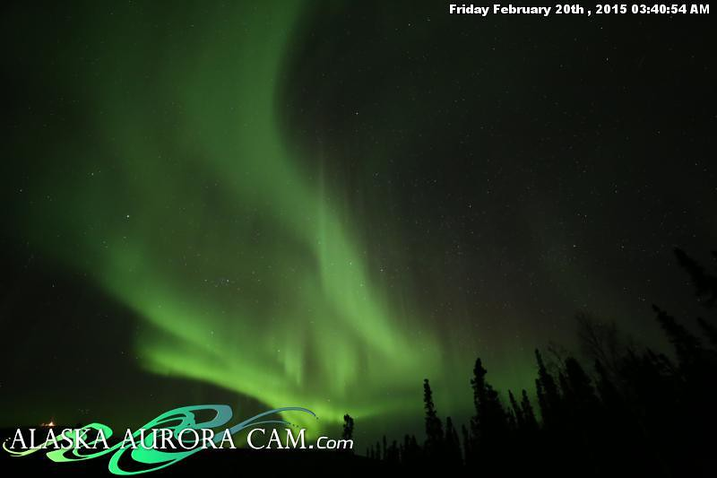 February 19th - Alaska Aurora Cam