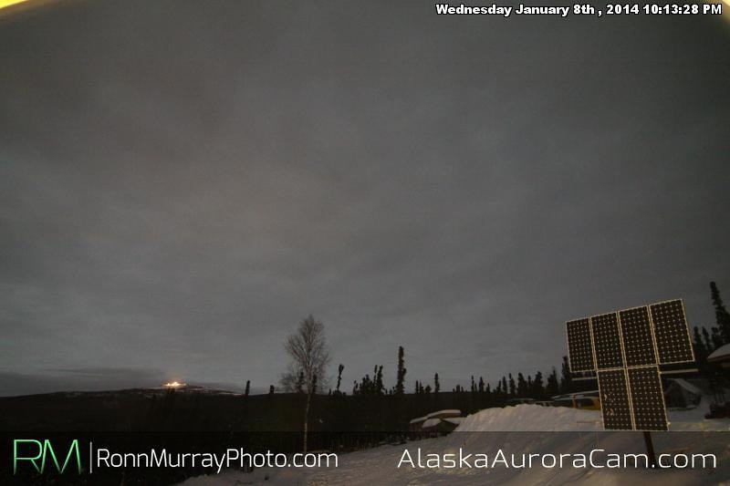 Storms - Jan 8th, Alaska Aurora Cam