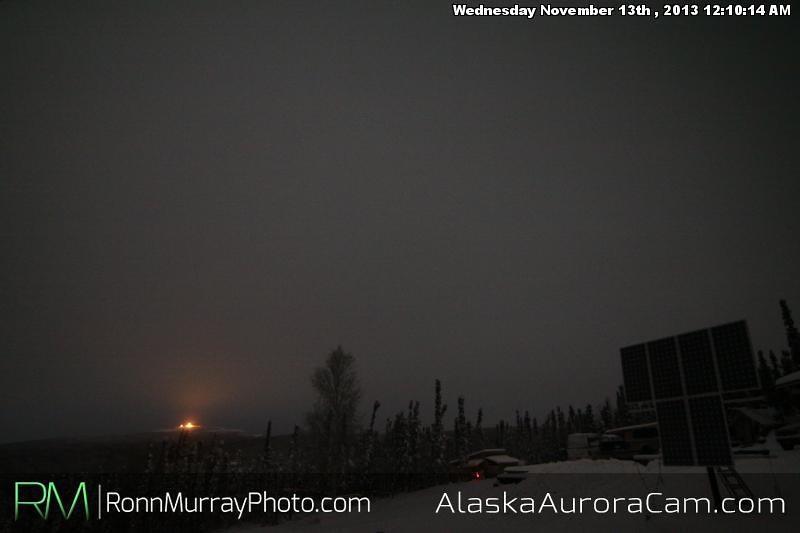 Icepocalypse 2013 - Nov 13th,  Alaska Aurora Cam