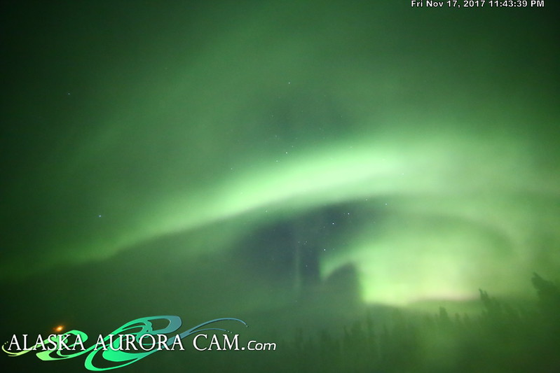 November 17th - Alaska Aurora Cam