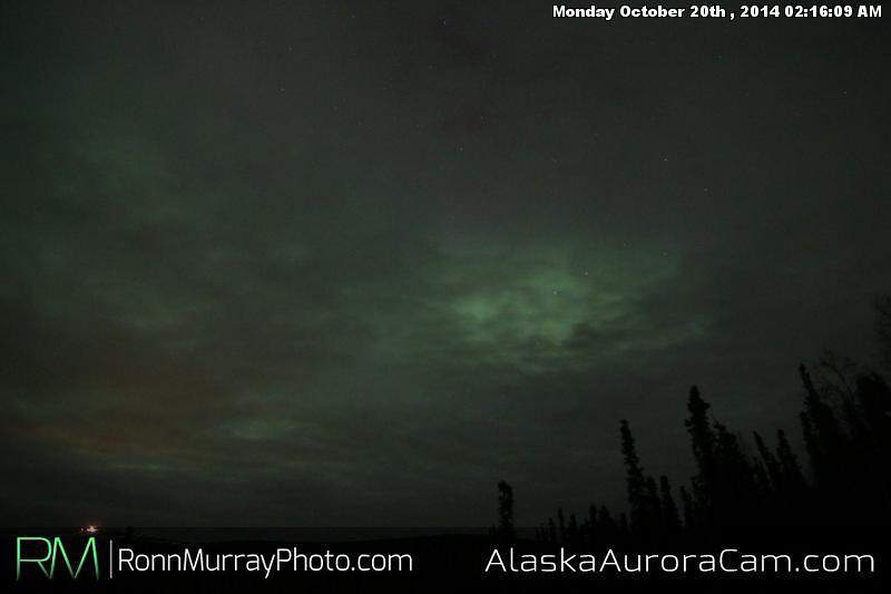 October 19th - Alaska Aurora Cam