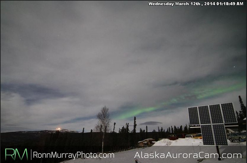 March 12th - Alaska Aurora Cam