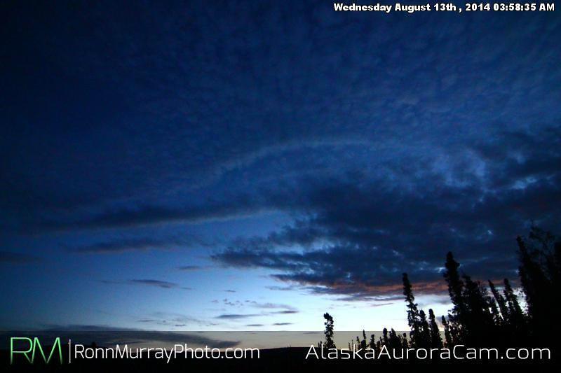 August 12th - Alaska Aurora Cam